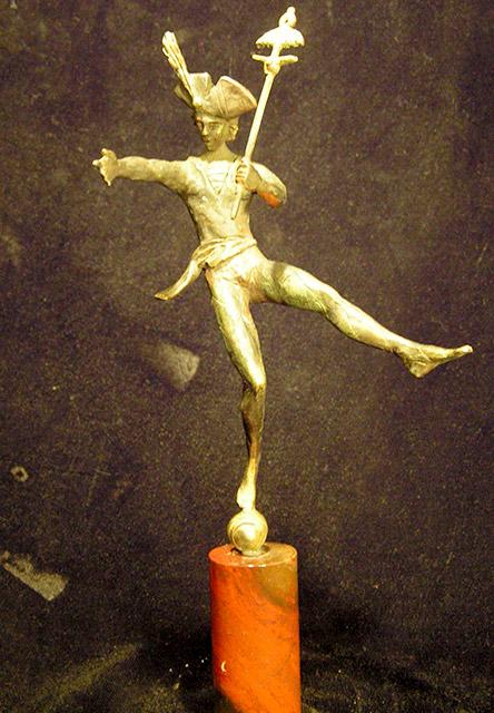 Продажа скульптуры через галерею | Патинировка